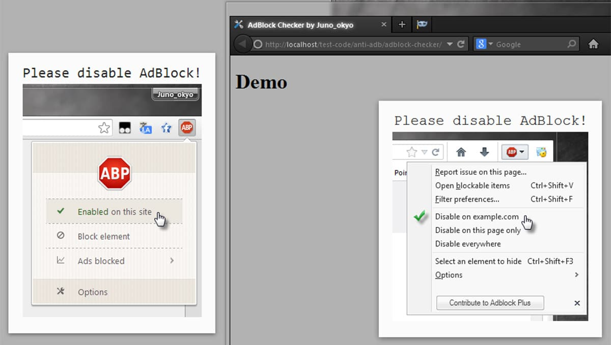 Best Free JS Adblock Detection Scripts For The Web - Designmodo