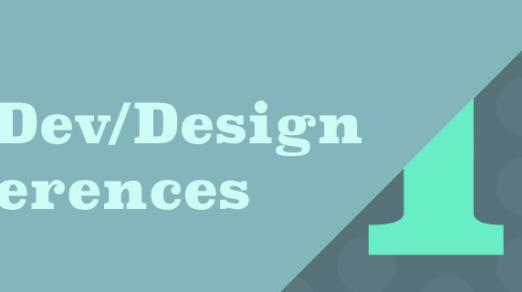 Best Web Dev/Design Conferences You Should Attend in 2017