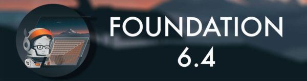 Zurb Releases Foundation 6.4