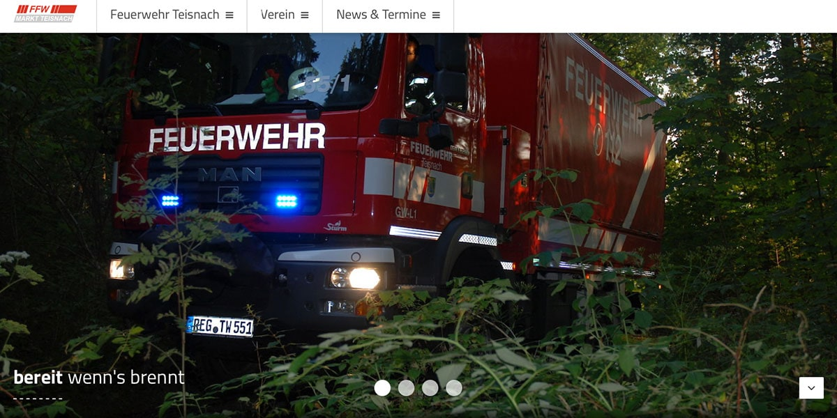 Feurwher Tesinace Proceswire based website