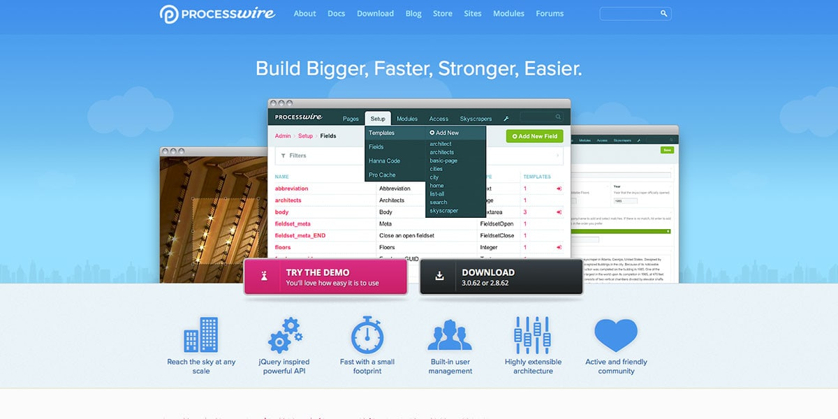 Prceswire CMS Homepage