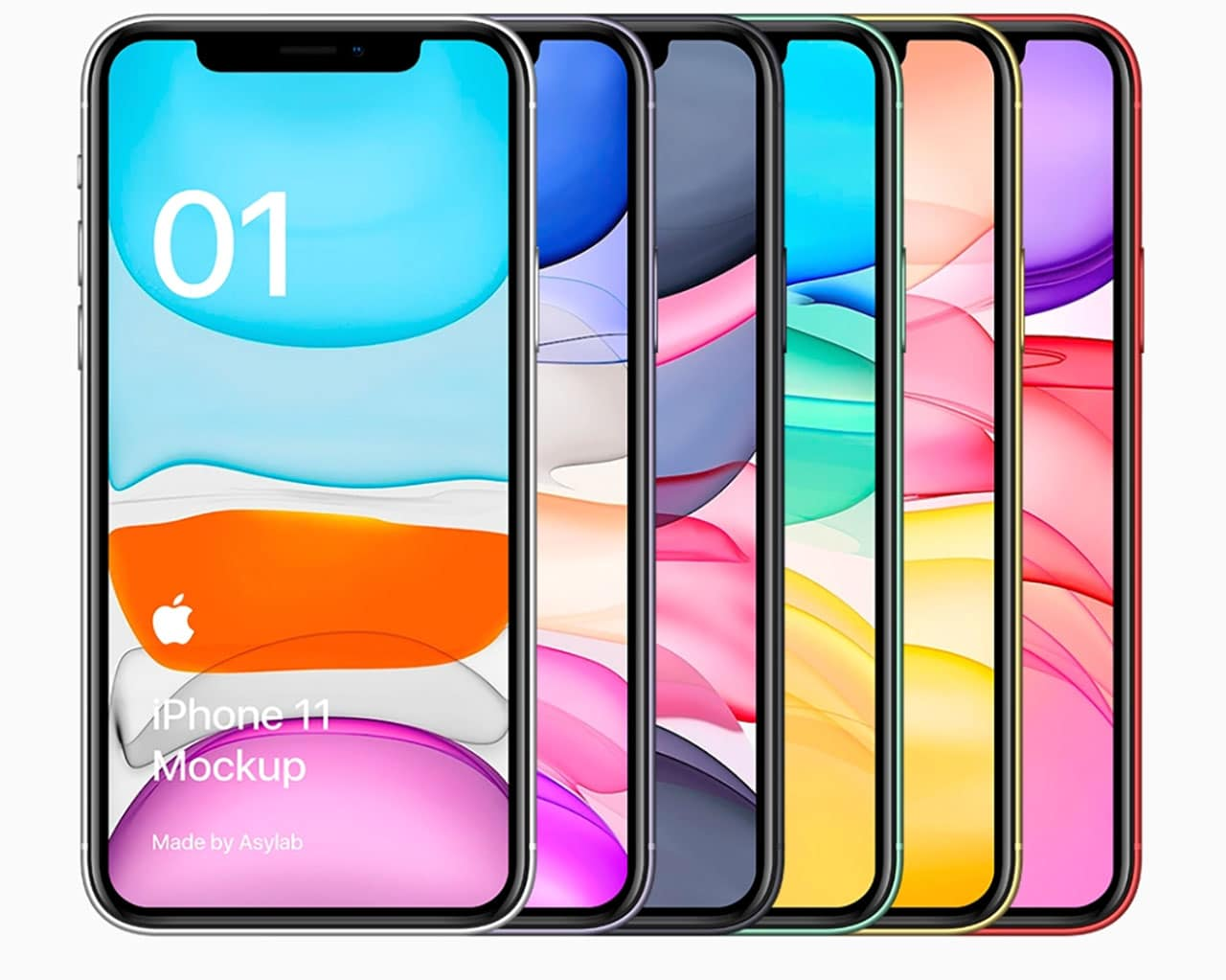 Free Iphone 11 11 Pro And Xr Mockups Psd Sketch Ai