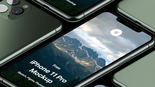 Free iPhone 12, 12 Pro Max, Mini and XR Mockups (PSD, Sketch, AI, Adobe XD)