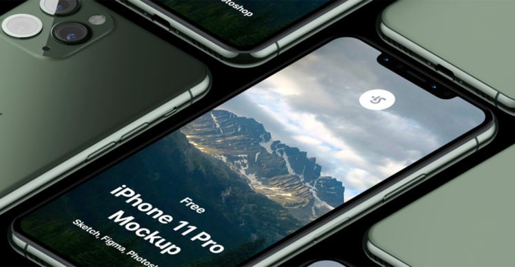 Free iPhone 11, 11 Pro and XR Mockups (PSD, Sketch, AI, Adobe XD)