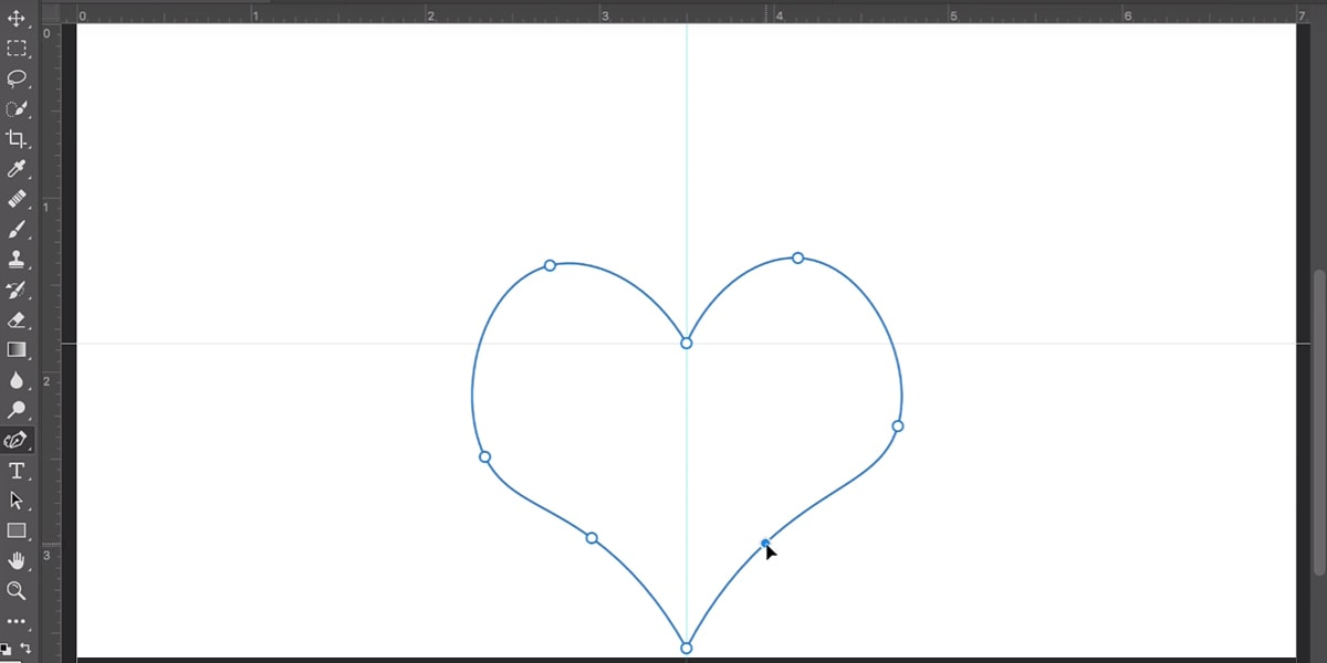 Photoshop pen for curves tool