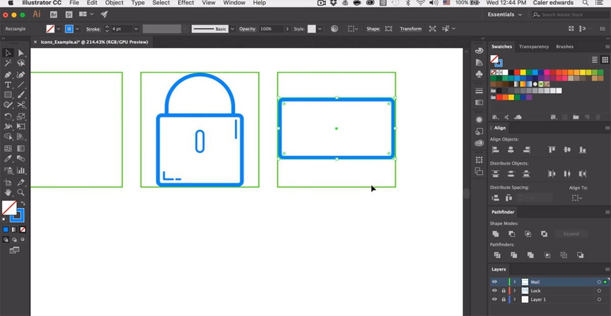 Crisp Vector Line Icons