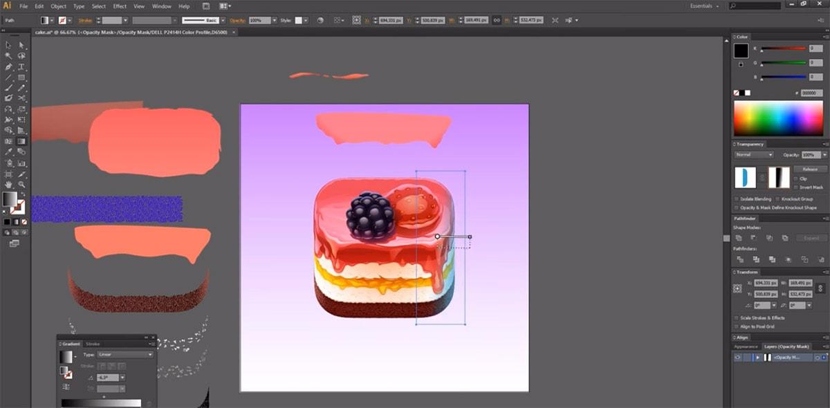 iOS Cake Icon