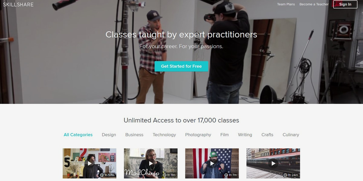 Explore and Share Your Skills with Skillshare, the Learning
