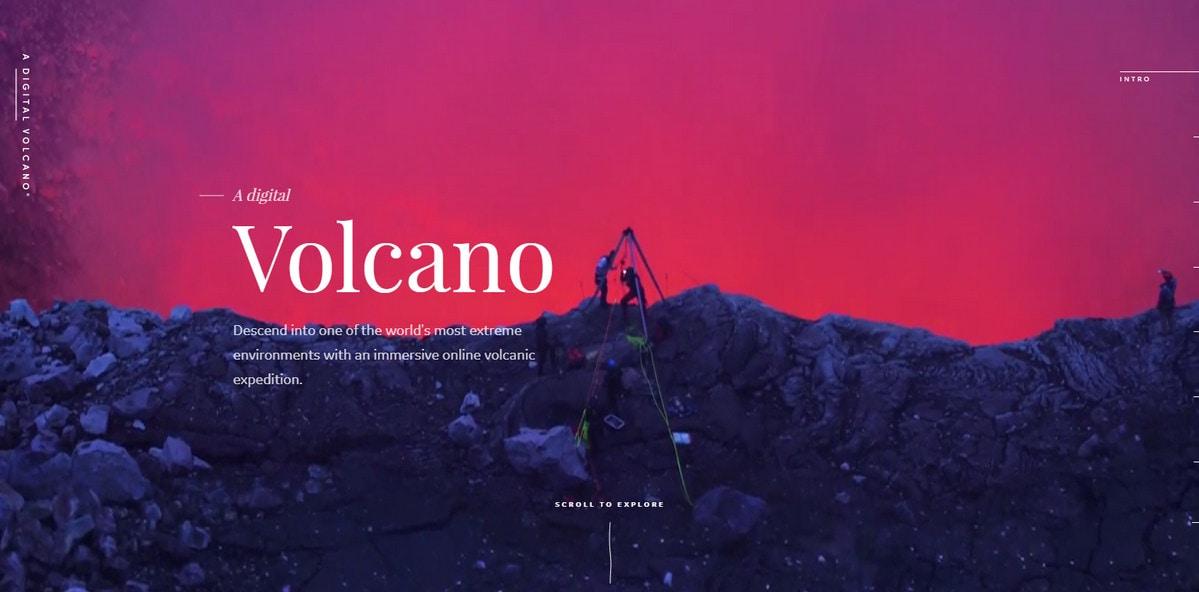 Digital Volcano