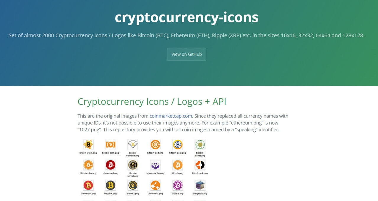 Cryptocurrency Icons by Condacore