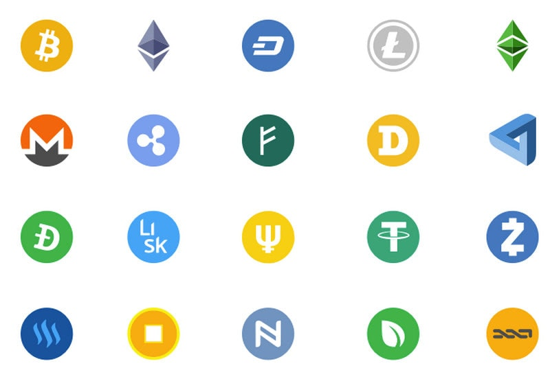 Crypto Currency Logos