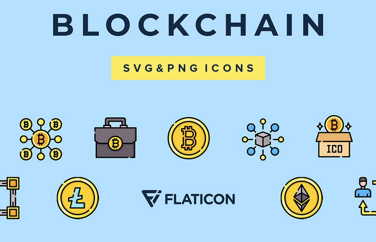 Blockchain Vector Icons