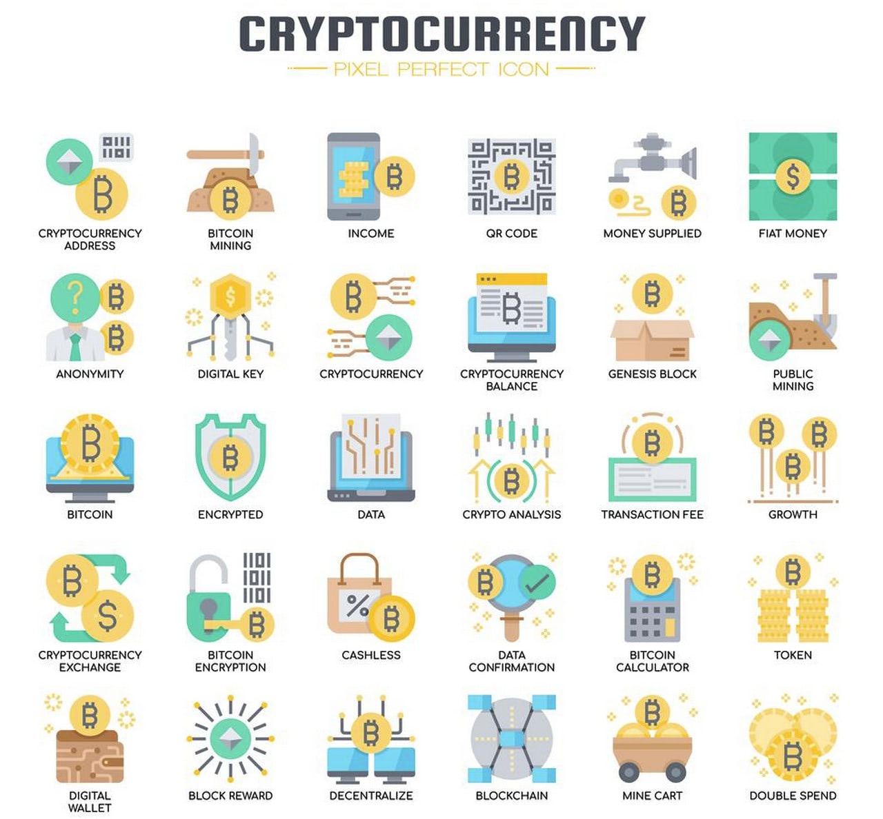Free Cryptocurrency Elements