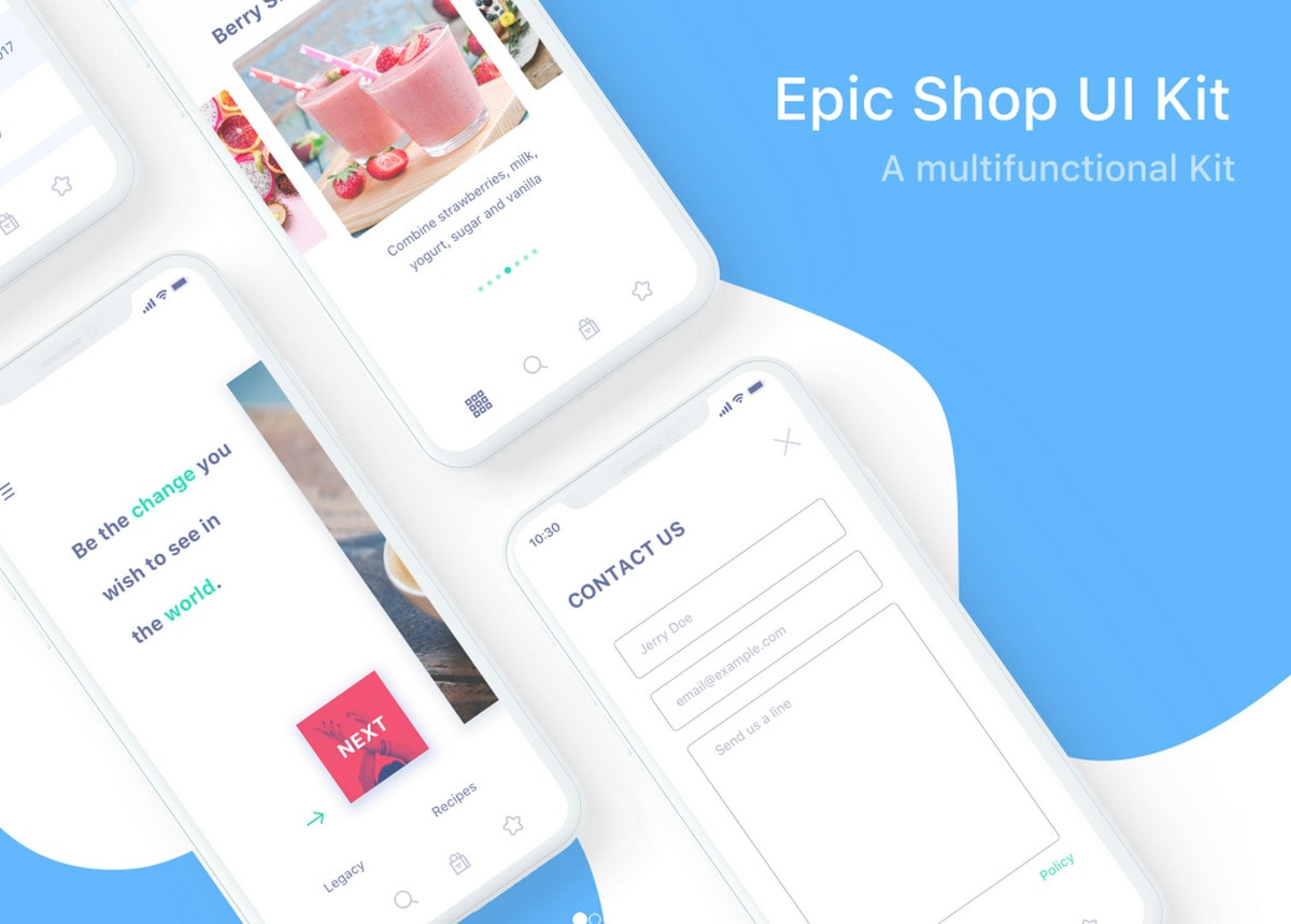 Epic Shop UI Kit by EpicCoders