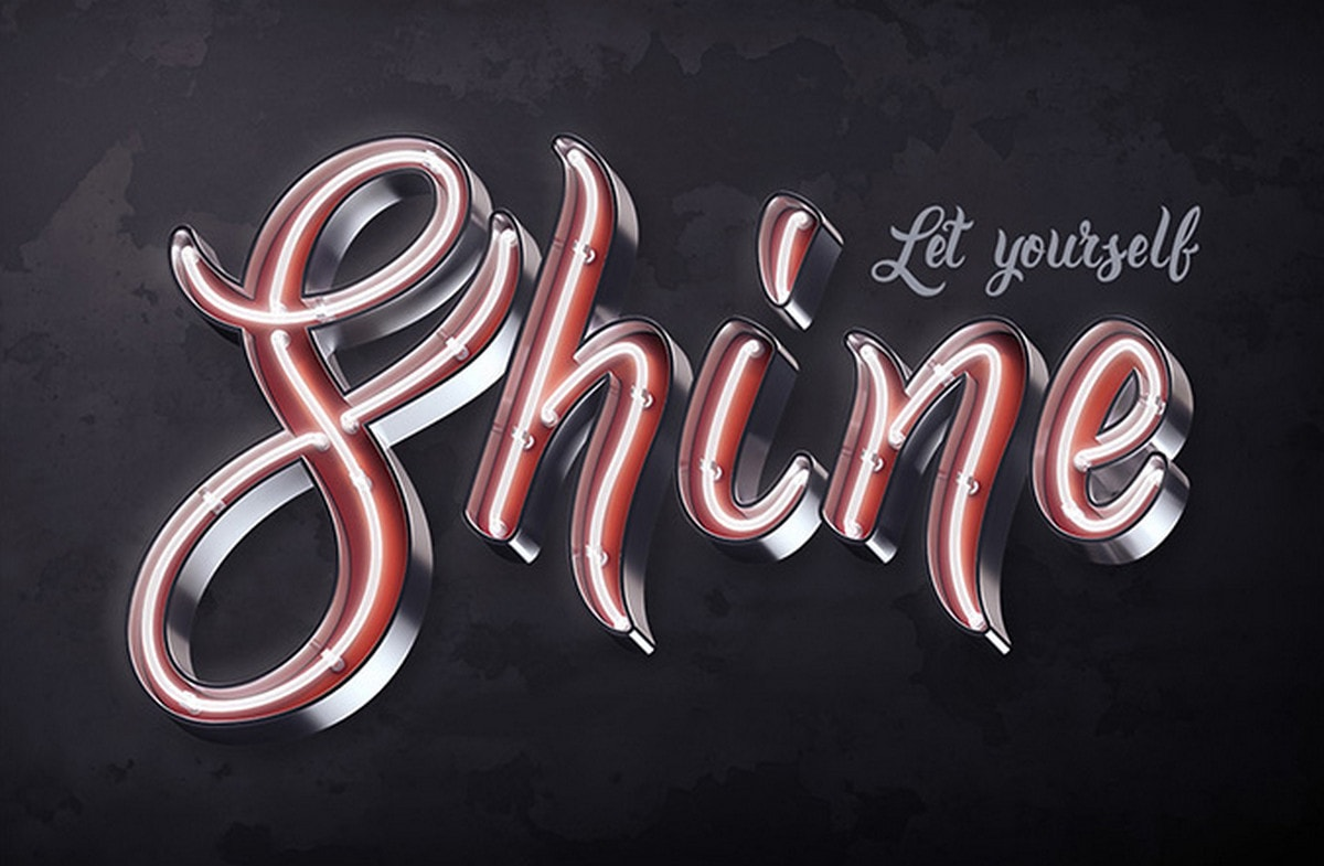 Bright Calligraphy PSD Typeface