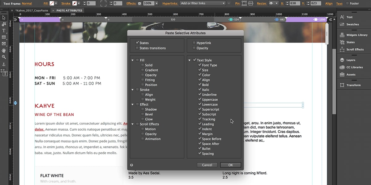 Adobe discontinues muse and business catalyst service designmodo muse ui flashek Image collections