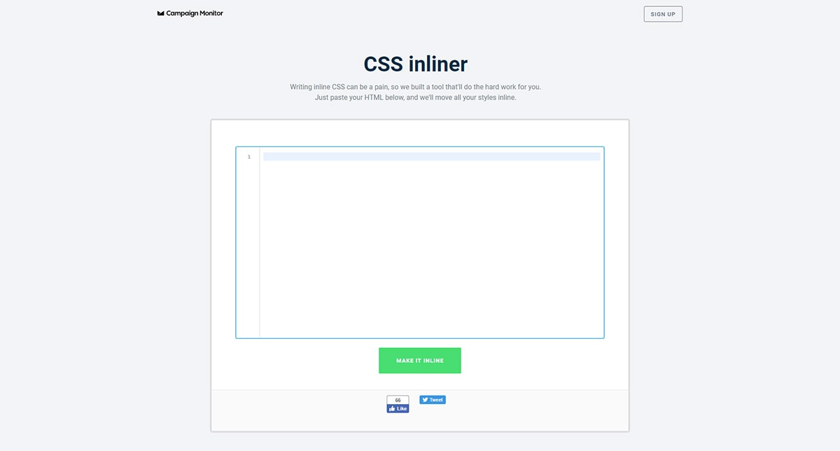 CampaignMonitor's CSS Inliner