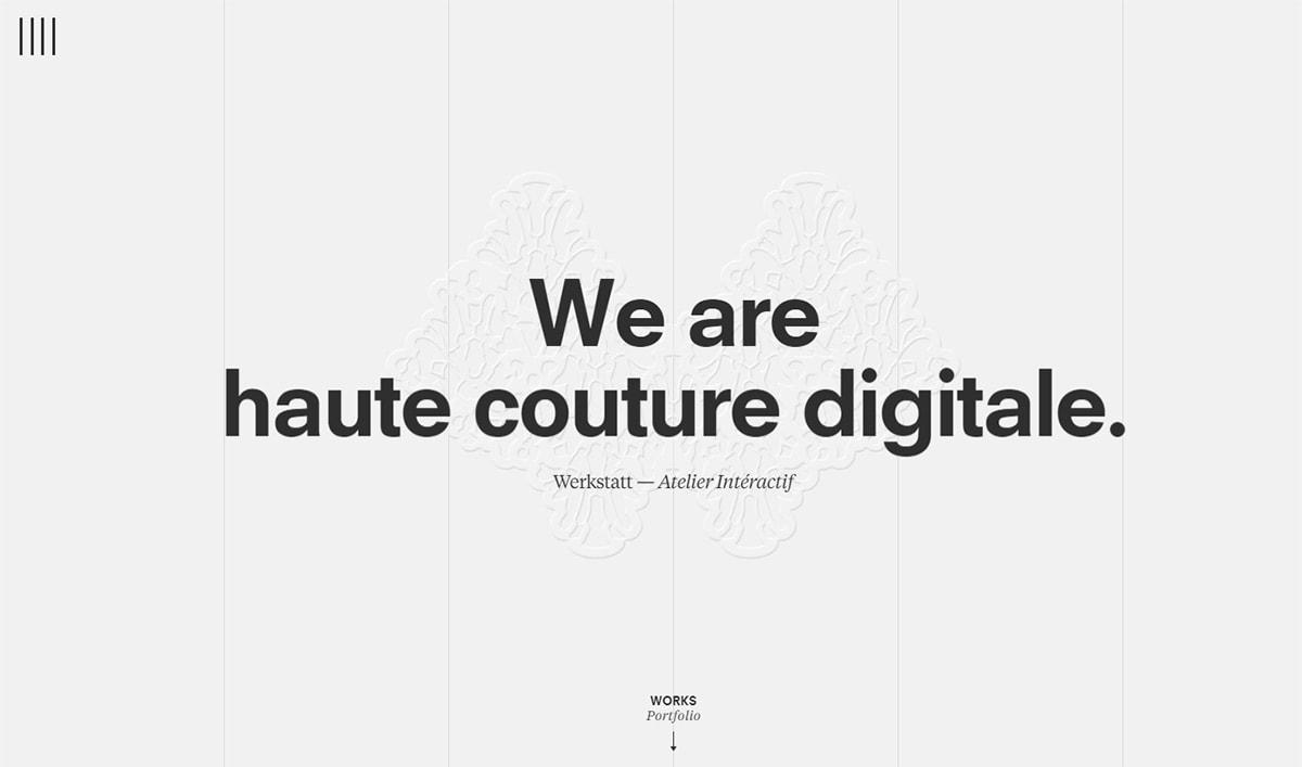 Werkstatt website