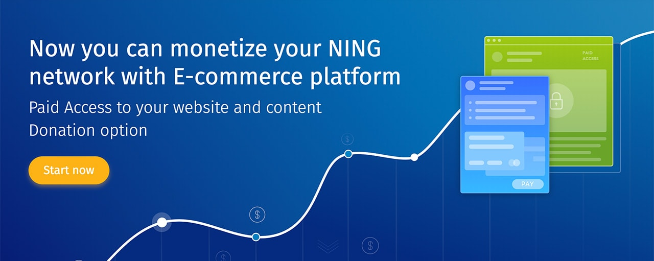 Ning Monetization Tools