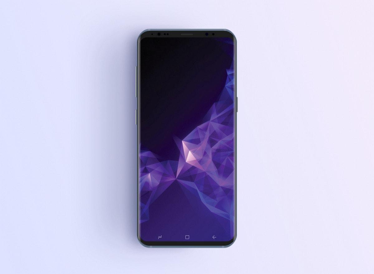 Samsung S9 Phone Mockup
