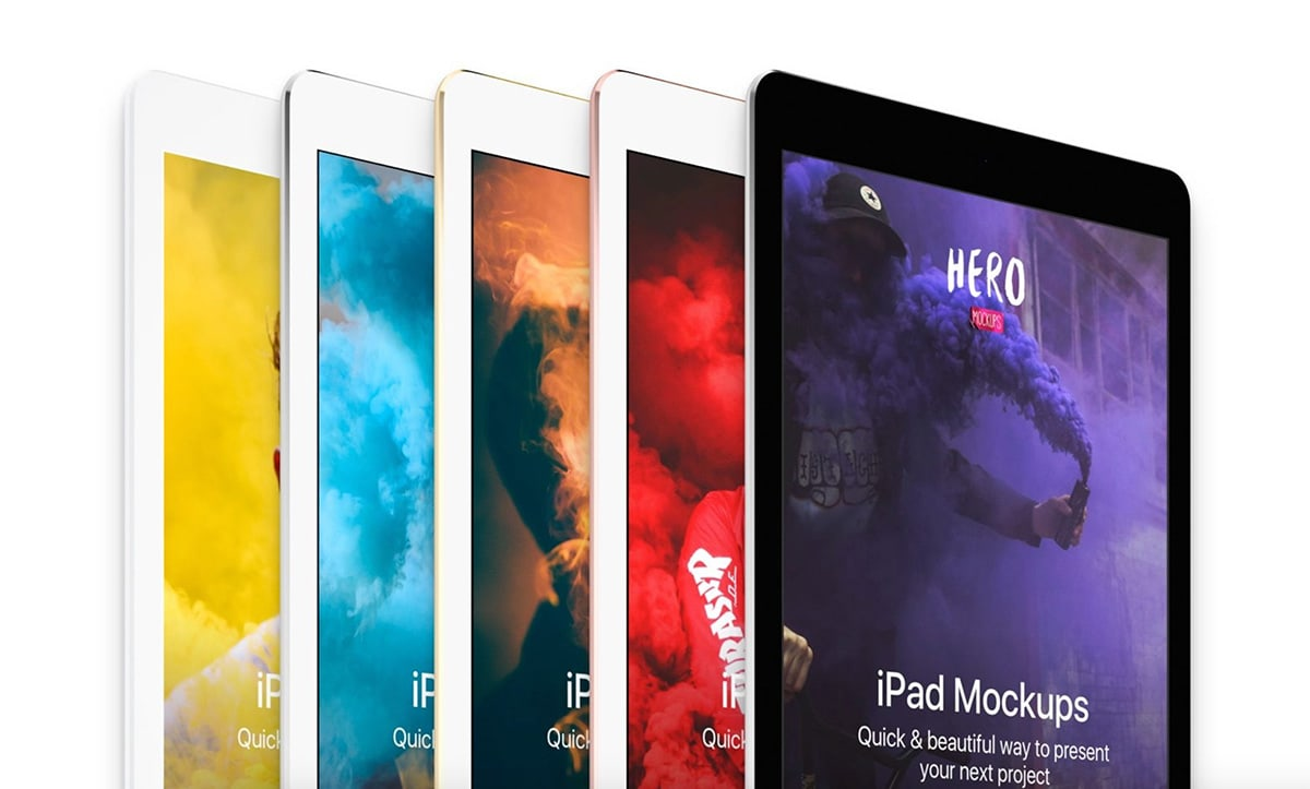HERO iPad Mockups