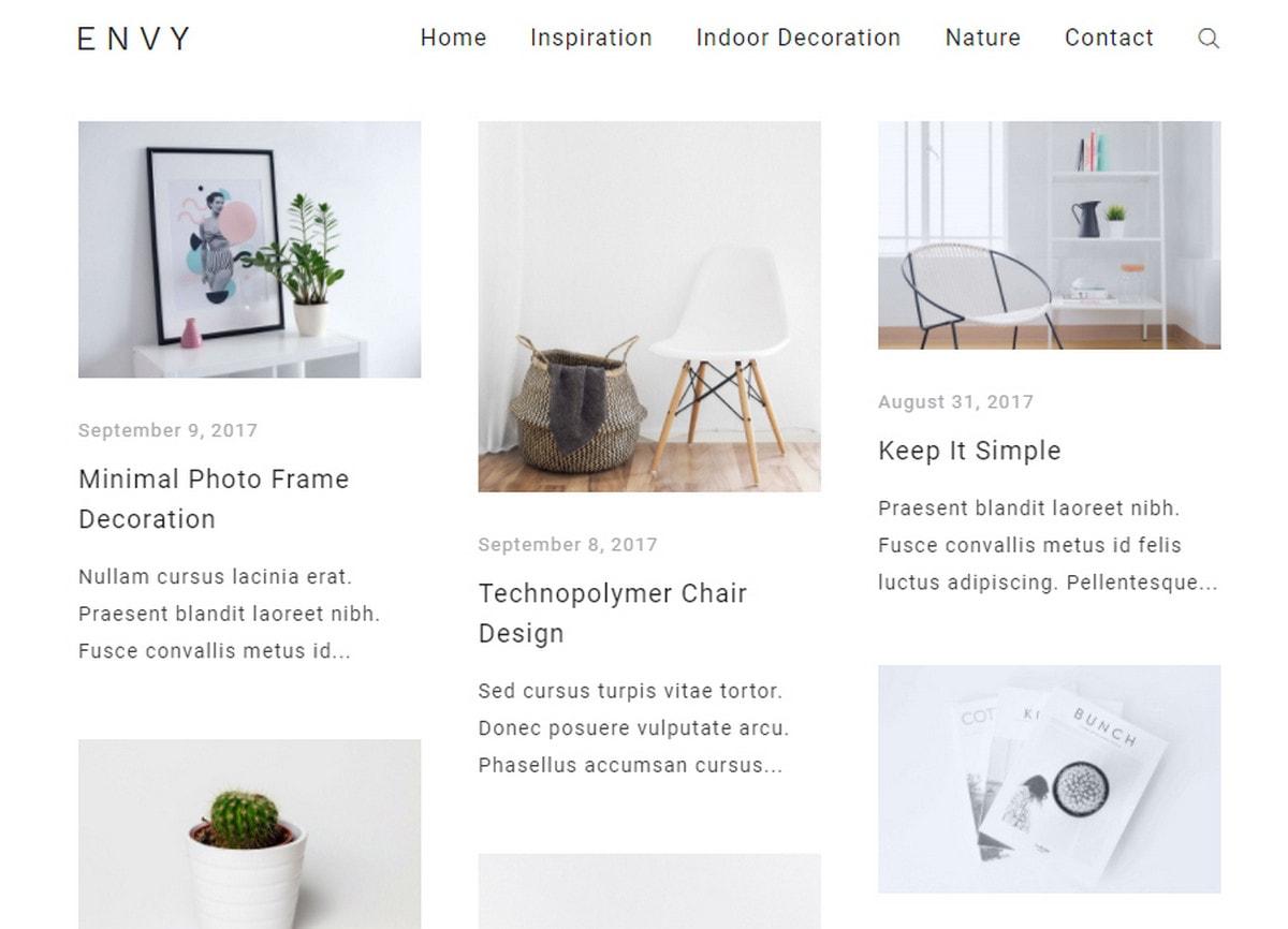 Blog creation WordPress
