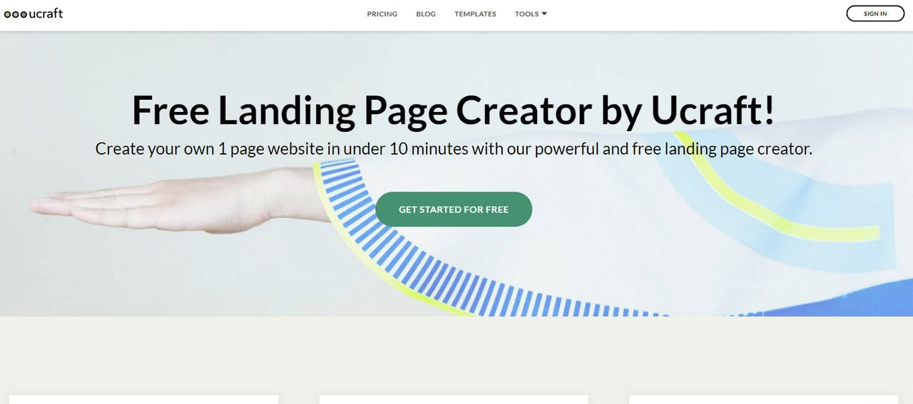 website builders that let craft landing pages