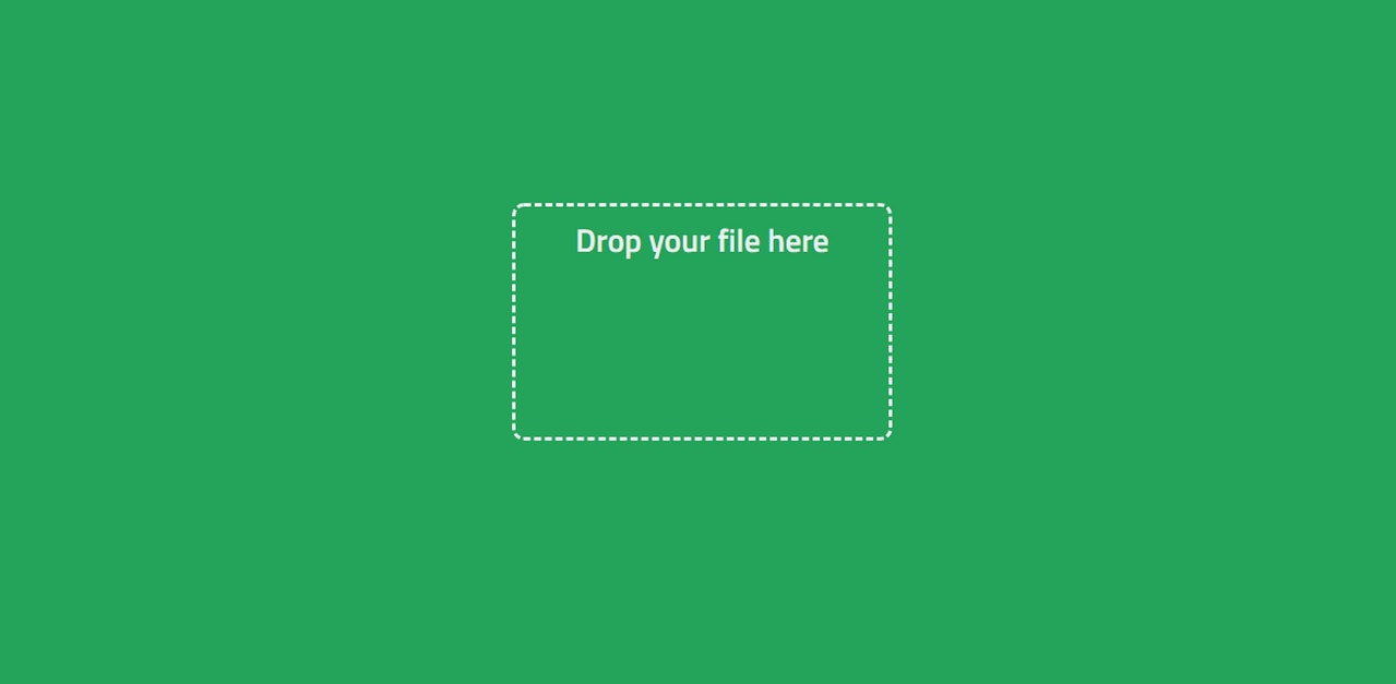 A Simple File Uploader yet with a Nifty Design