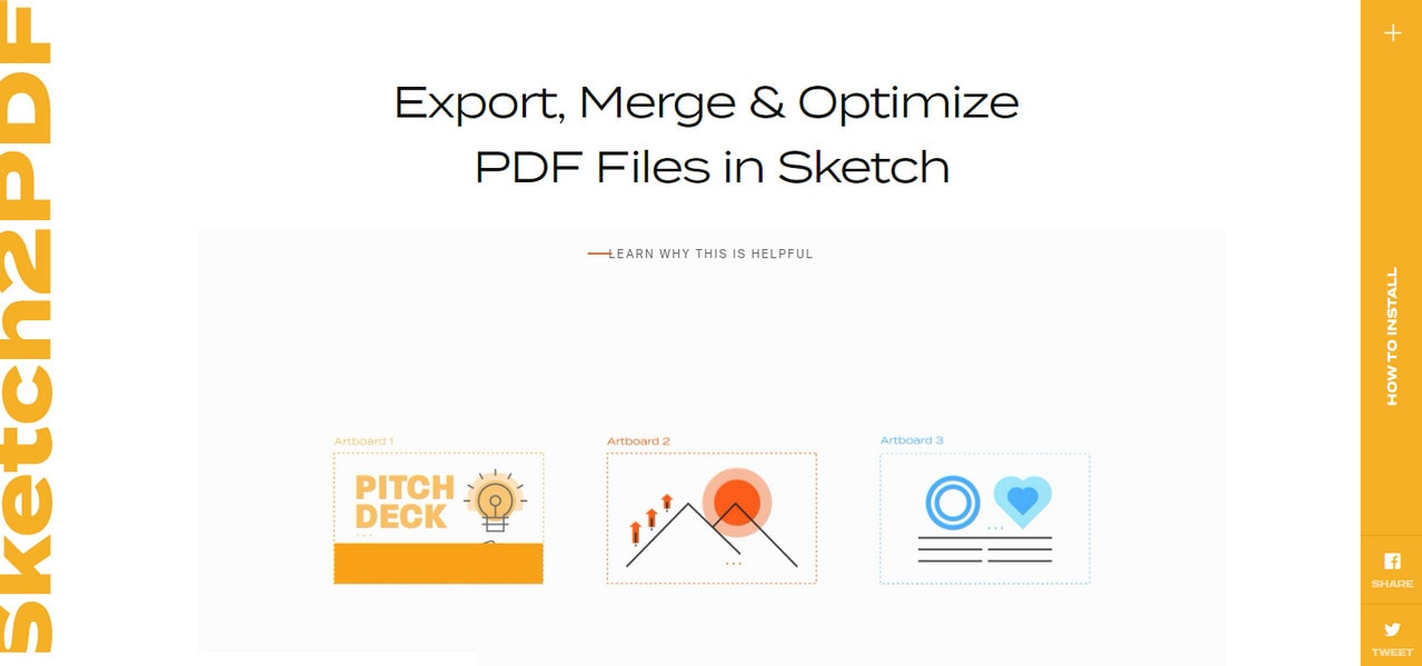 onvert Plugin that convert Sketch works into PDF files