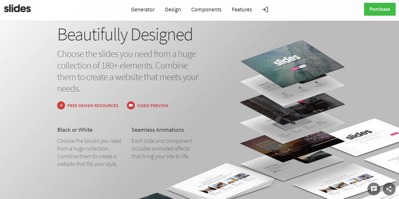 Premium Website builder