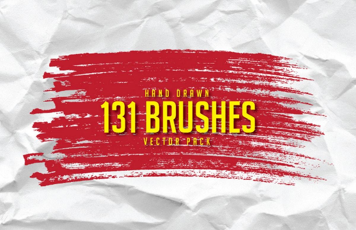 Hand-drawn brushes