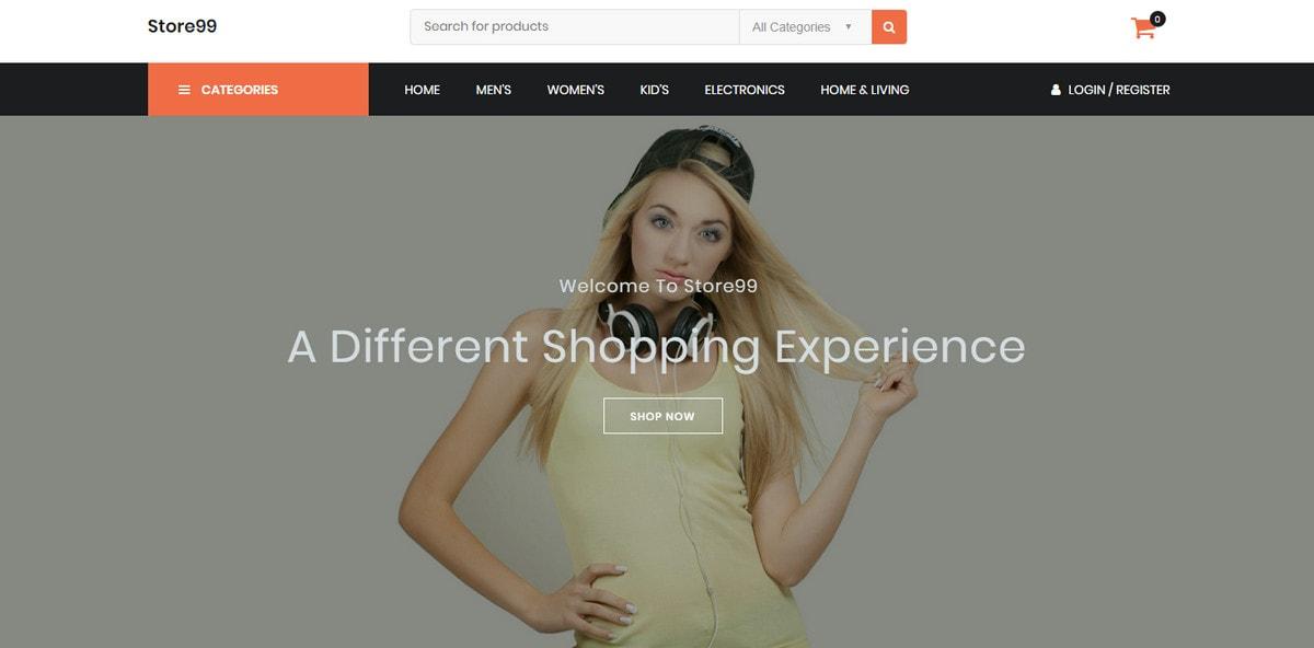 Simple and plain WordPress theme