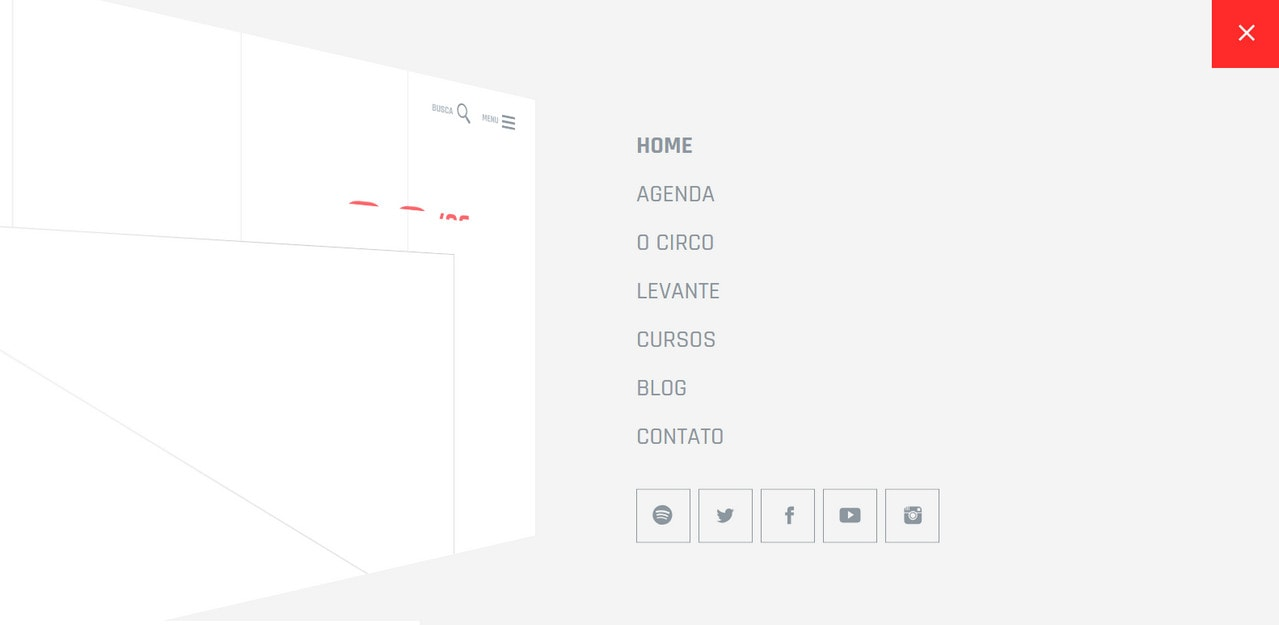 Simple Slideout menu