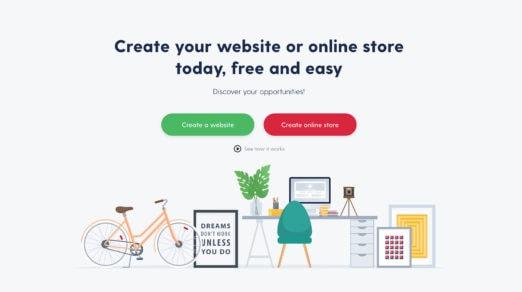 Best Free Websites Builders of 2018