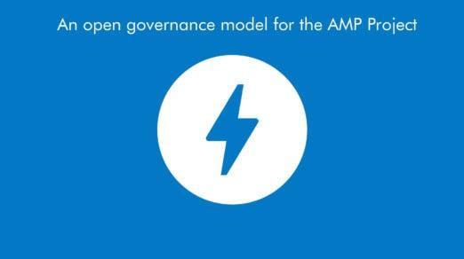 Google Announces a New Governance Model for AMP