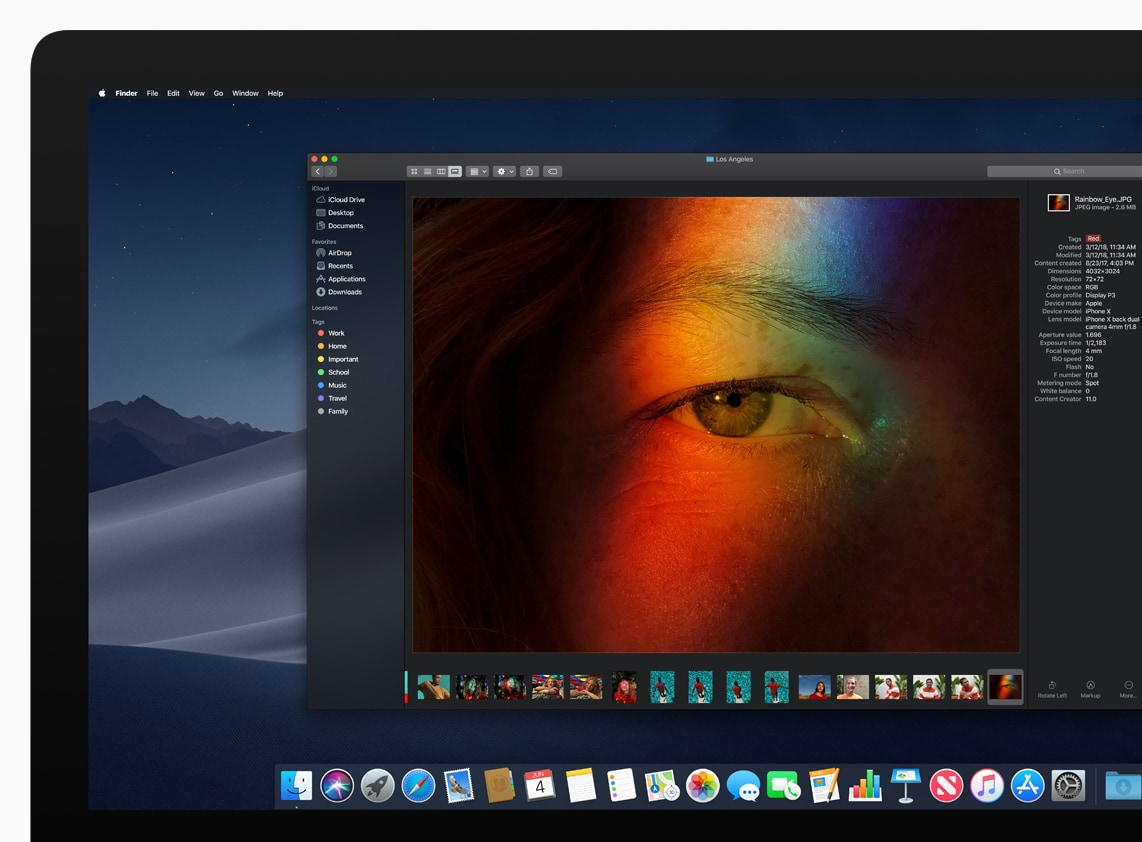 Dark Mode in Mojave by Apple