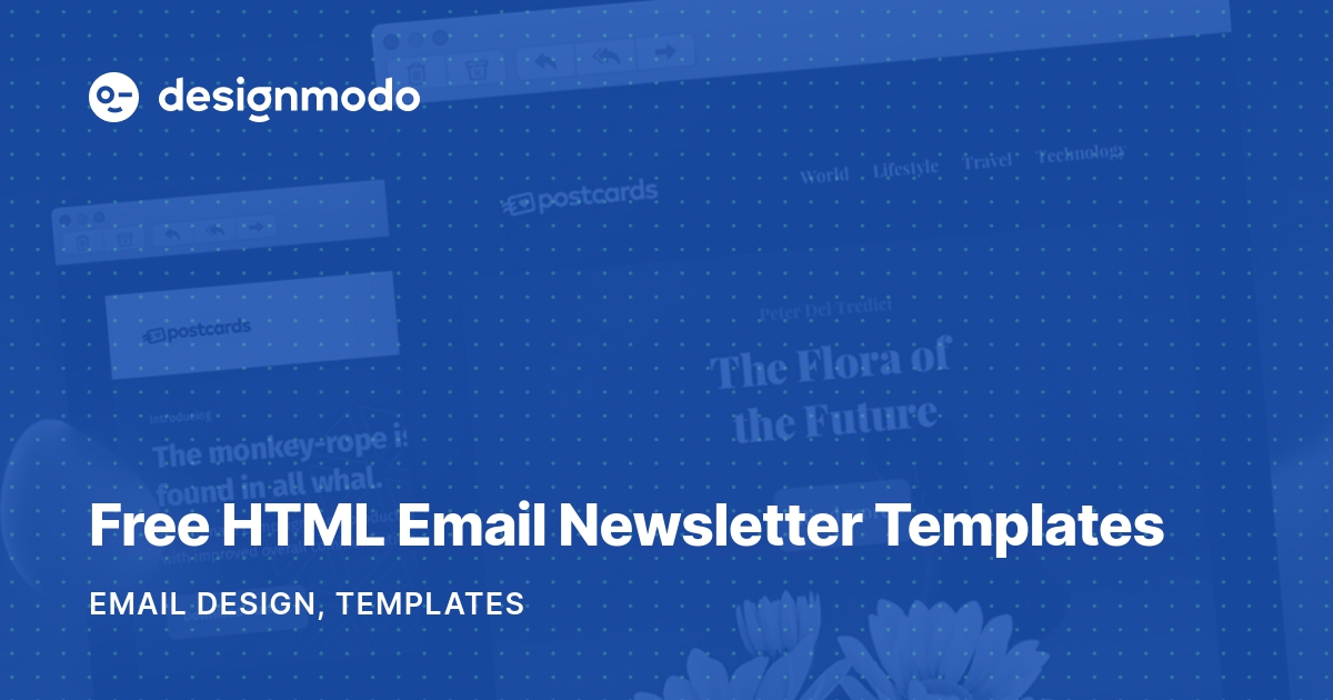 Best Free HTML Email Newsletter Templates of 2019 - Designmodo