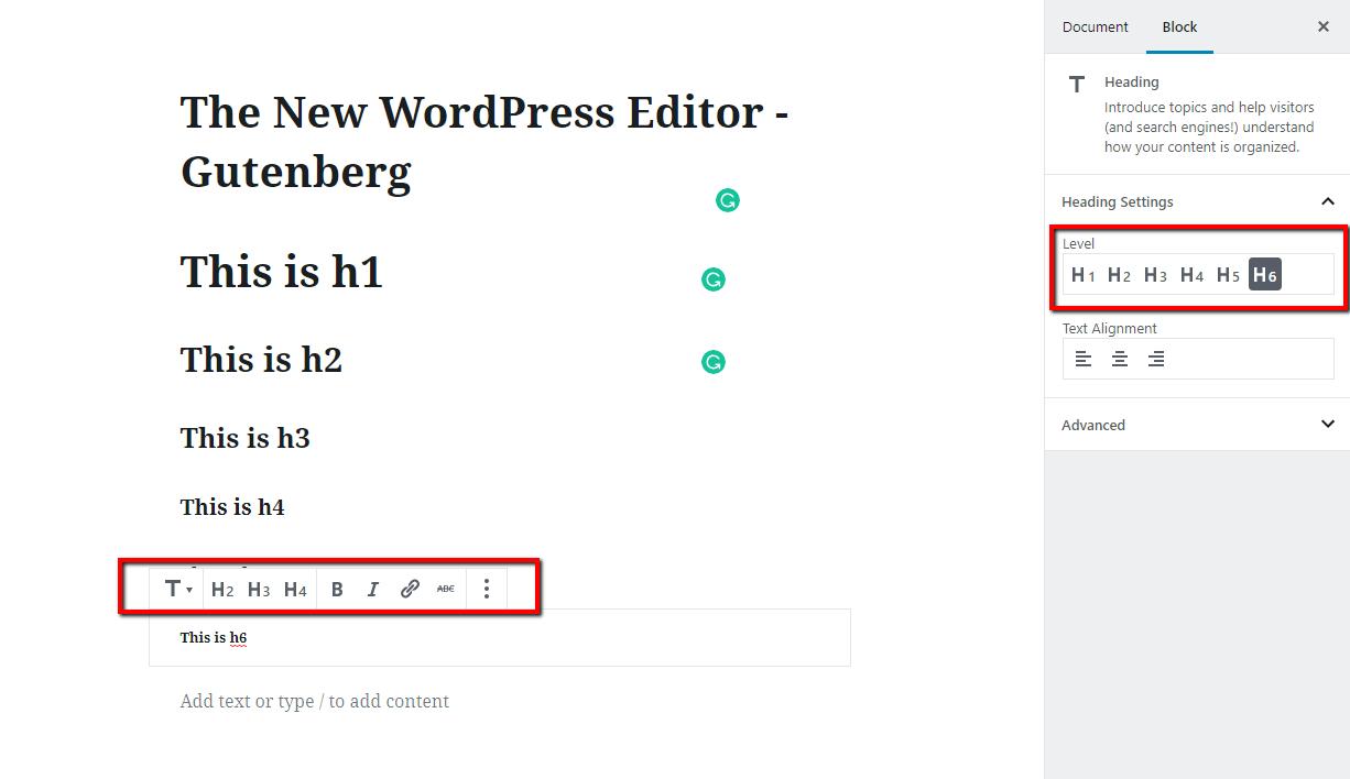 Gutenberg H