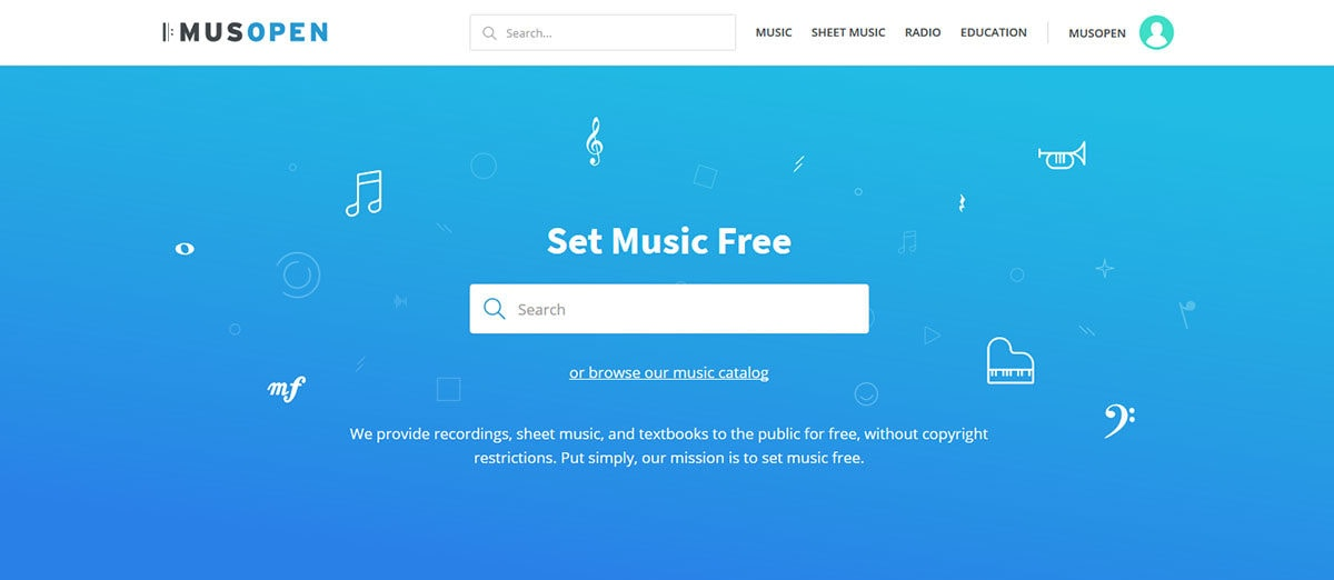 Musopen Homepage