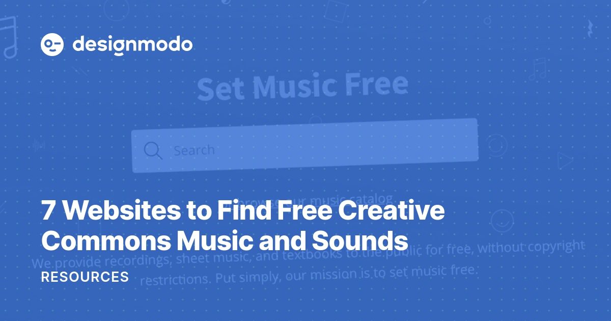 7 Websites to Find Free Creative Commons Music and Sounds