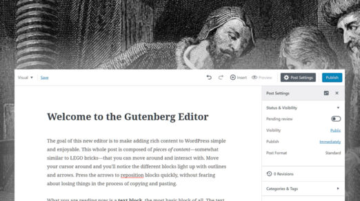 A Comprehensive Guide for the Gutenberg WordPress Editor