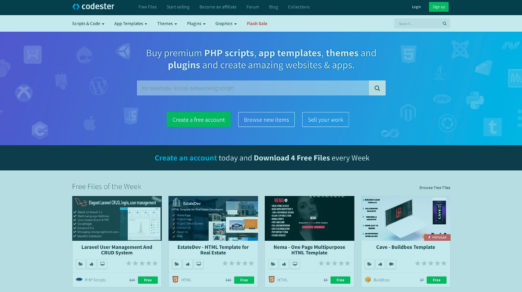 Codester Has Everything You Need to Start Design Projects Fast
