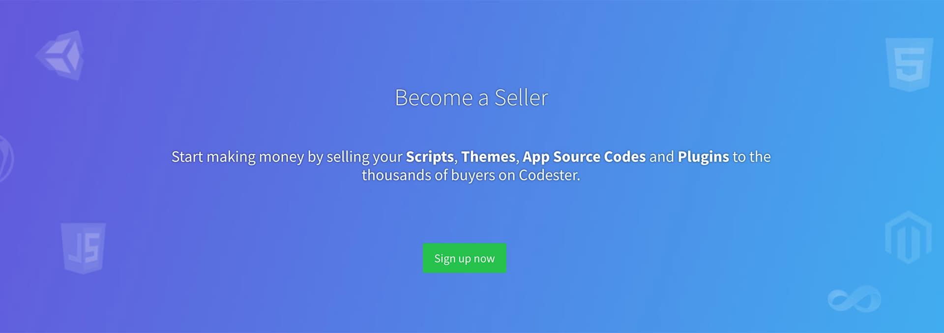 Sell Designs on Codester