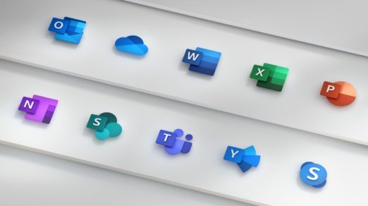 Microsoft Redesigns Office App Icons