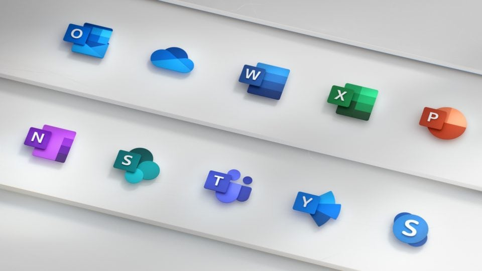 Microsoft Redesigned The Office App Icons