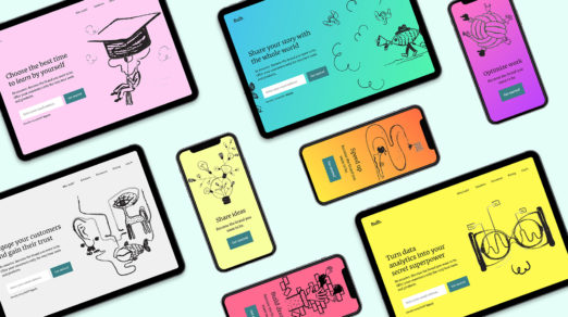 Free Absurd Illustrations for Landing Pages