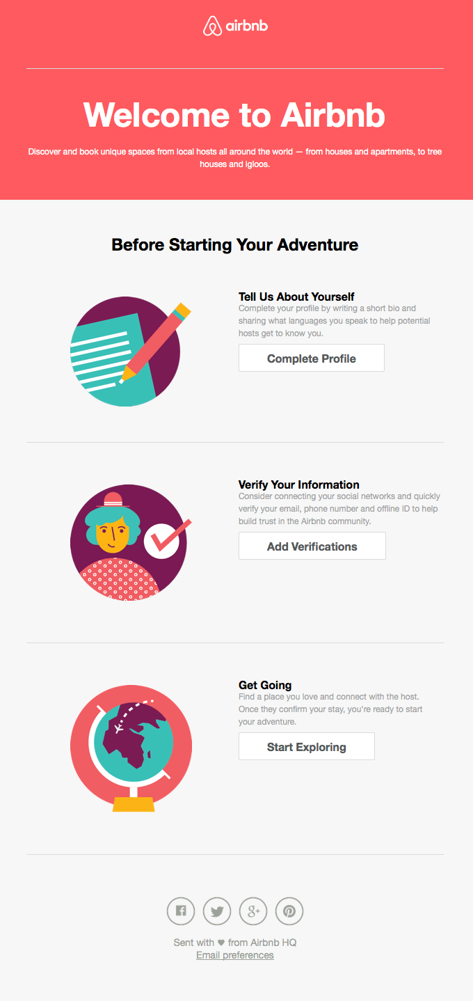 Get started on Airbnb