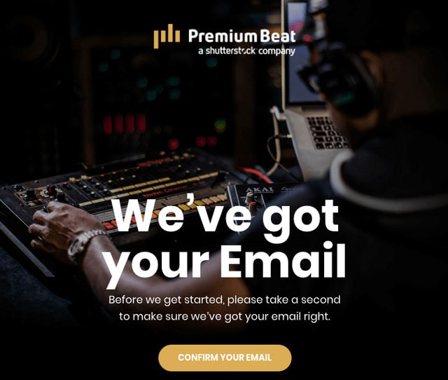 PremiumBeat Email Updates