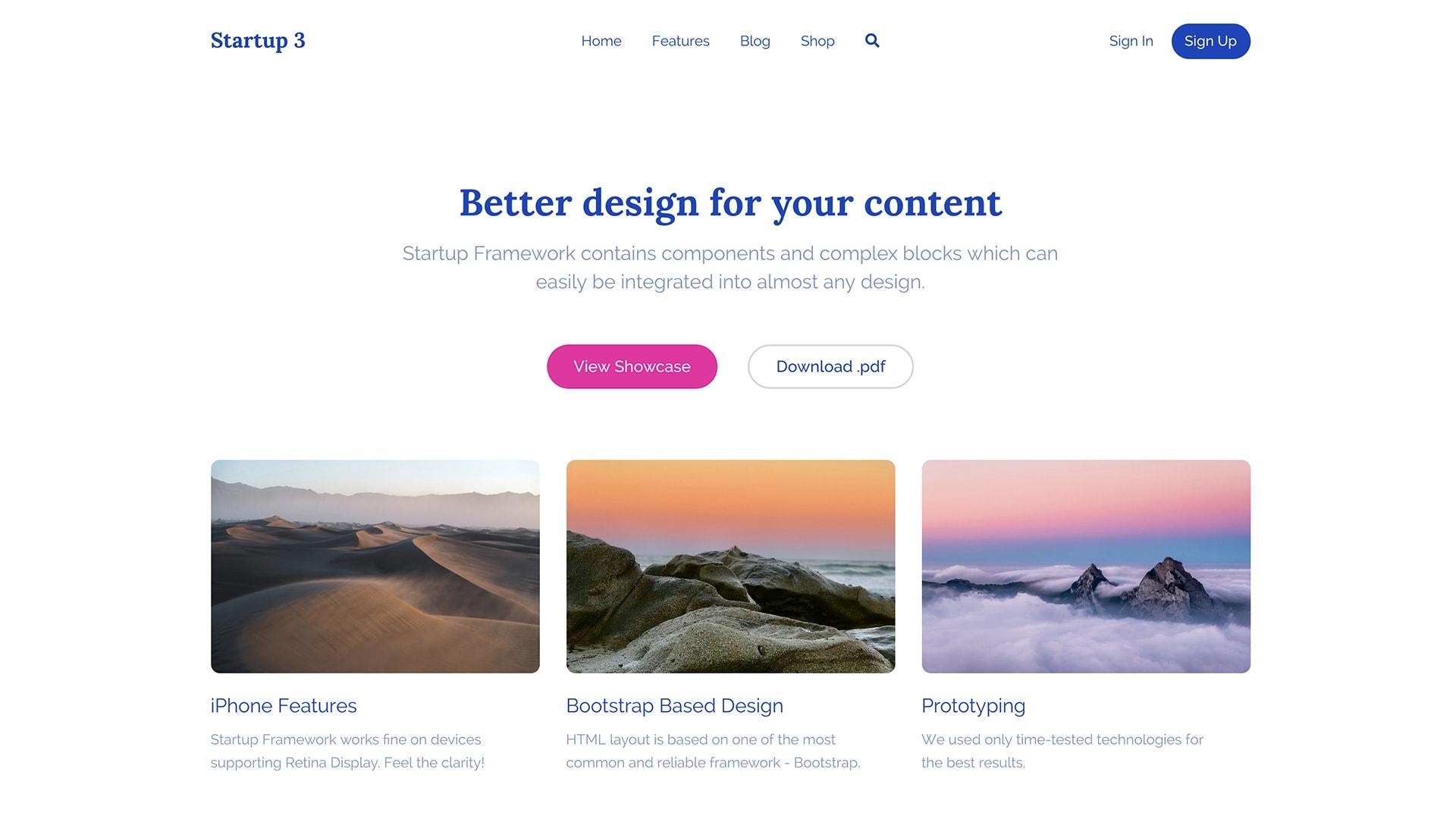 Bootstrap Personal Portfolio Theme