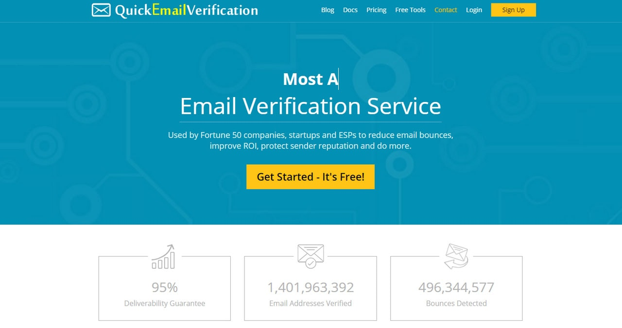 Quick Email Verification